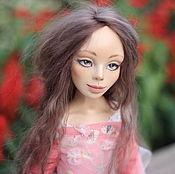 Куклы и игрушки ручной работы. Ярмарка Мастеров - ручная работа Каркасная кукла Кристина. Handmade.