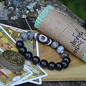 Фен-шуй и эзотерика handmade. Livemaster - original item Men`s bracelet JI Talisman, with tarot diagnostics - My Gift. Handmade.