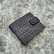 Сумки и аксессуары handmade. Livemaster - original item Men`s wallet genuine leather Python. Handmade.