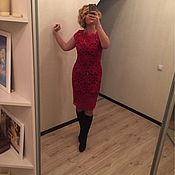 Одежда ручной работы. Ярмарка Мастеров - ручная работа Платье кружевное. Handmade.