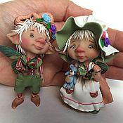 Куклы и игрушки ручной работы. Ярмарка Мастеров - ручная работа Летние бабочки. Handmade.