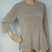 Одежда handmade. Livemaster - original item Cotton pullover with sequin