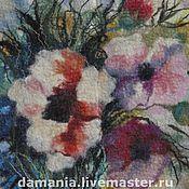 Картины и панно ручной работы. Ярмарка Мастеров - ручная работа Валяная картина Готика. Handmade.