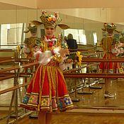 Работы для детей, ручной работы. Ярмарка Мастеров - ручная работа Костюм Козы - персонажа белорусского танца.. Handmade.