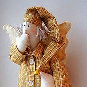 Куклы и игрушки ручной работы. Ярмарка Мастеров - ручная работа текстильная кукла ангел-снов. Handmade.
