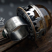 Украшения ручной работы. Ярмарка Мастеров - ручная работа Кольцо Roundabout in silent hills, серебро, кварц, изумруд, голдфилл. Handmade.