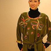 """Одежда ручной работы. Ярмарка Мастеров - ручная работа Блуза """"Бабочки"""". Handmade."""