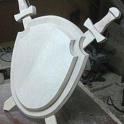 Материалы для творчества manualidades. Livemaster - hecho a mano El escudo de armas de la pieza de trabajo 002. Handmade.