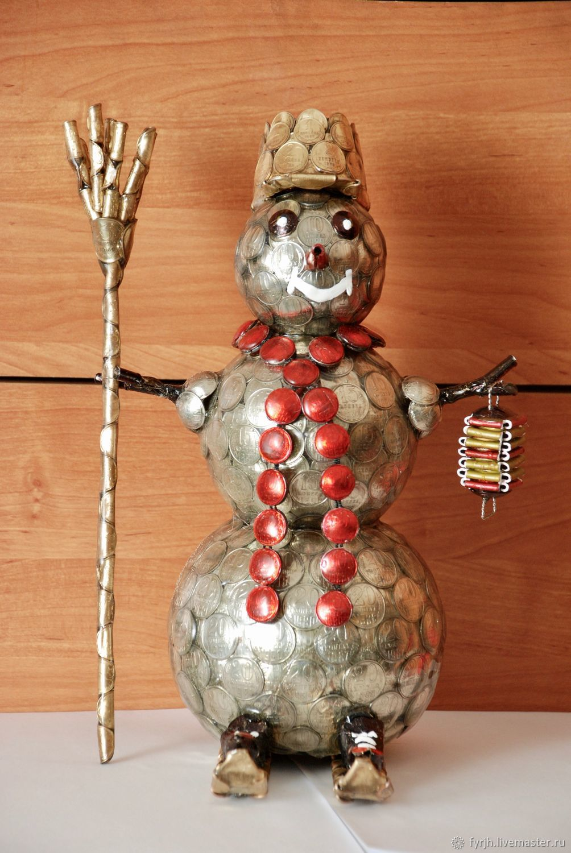 Снеговик, Народная кукла, Набережные Челны,  Фото №1