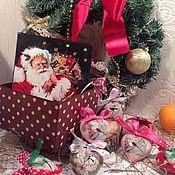 """Подарки к праздникам ручной работы. Ярмарка Мастеров - ручная работа Набор ёлочных игрушек """"Стрекозки"""". Handmade."""
