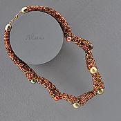Украшения handmade. Livemaster - original item Martian Chronicles invasion. Zhuji - necklace. Handmade.