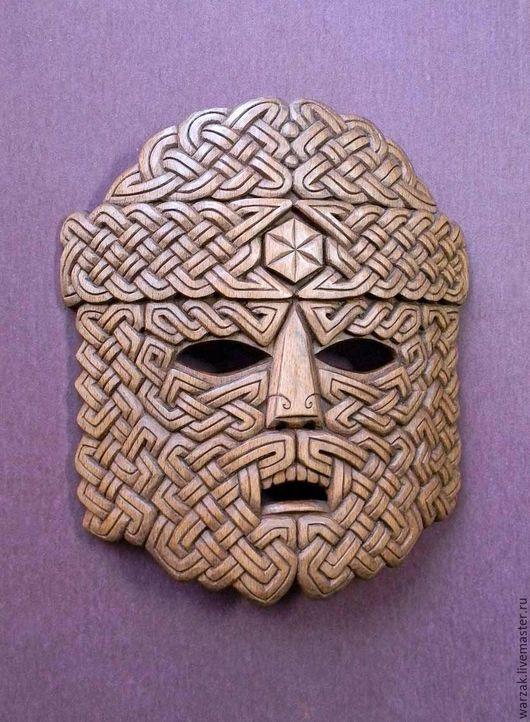 """Интерьерные  маски ручной работы. Ярмарка Мастеров - ручная работа. Купить Авторская маска """"Воин Севера"""". Handmade. Маска"""