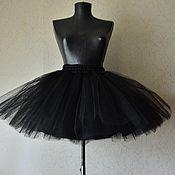 Одежда ручной работы. Ярмарка Мастеров - ручная работа Черная юбка-пачка. Handmade.
