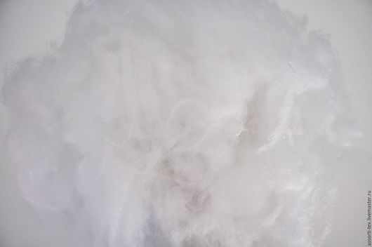 Другие виды рукоделия ручной работы. Ярмарка Мастеров - ручная работа. Купить Аналог натурального лебяжьего пуха.. Handmade. Белый