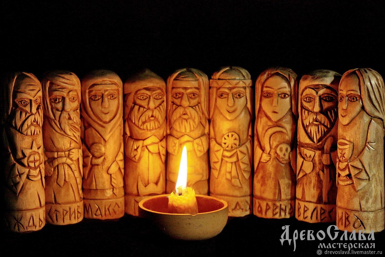 Кумиры.Чуры славянских Богов, Статуэтки в русском стиле, Тольятти,  Фото №1