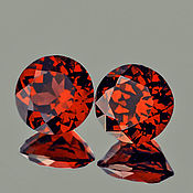 Материалы для творчества handmade. Livemaster - original item Pyrope Garnet 5,0 mm. Best of its kind. Handmade.