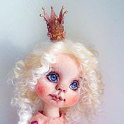 Куклы и игрушки ручной работы. Ярмарка Мастеров - ручная работа Принцесса ангелок. Текстильная кукла. Handmade.