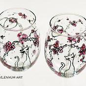 Посуда handmade. Livemaster - original item Glass