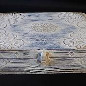 """Для дома и интерьера ручной работы. Ярмарка Мастеров - ручная работа Шкатулка в стиле  """" Прованс"""". Handmade."""