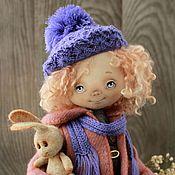 Куклы и игрушки ручной работы. Ярмарка Мастеров - ручная работа Текстильная  авторская кукла Моника. Handmade.