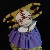 Куклы и игрушки ручной работы. Ярмарка Мастеров - ручная работа Коллекционная войлочная кукла Капивака №4. Handmade.