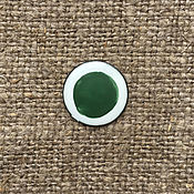 Материалы для творчества handmade. Livemaster - original item Overglaze paint Dulevo No. №550 dark green. Handmade.