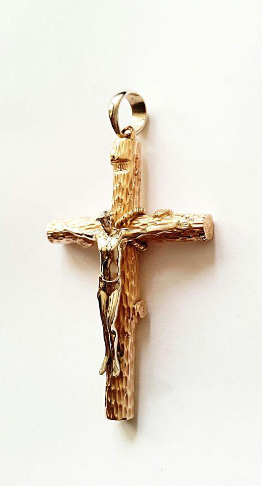 Стильный православный крестик