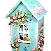 Для дома и интерьера handmade. Livemaster - original item Teahouse blossom 4, tea house Sakura. Handmade.