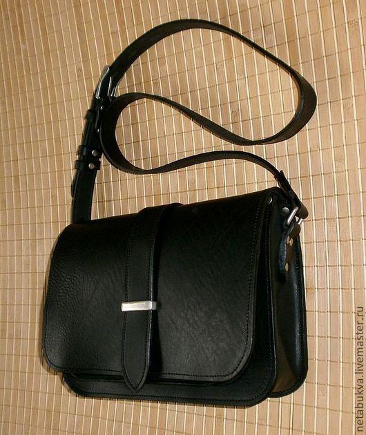 Женские сумки ручной работы. Ярмарка Мастеров - ручная работа. Купить Классика. Handmade. Сумка, кожа натуральная