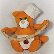 Куклы и игрушки ручной работы. Ярмарка Мастеров - ручная работа Поваренок Федька. Handmade.