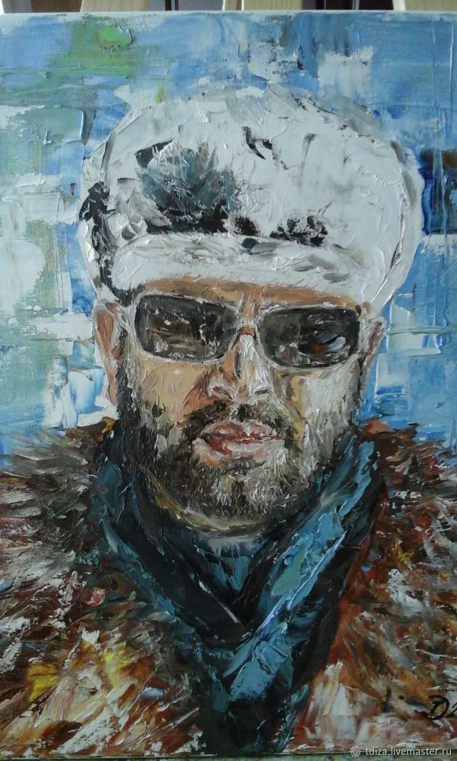 Oil portrait from photo to order, Pictures, Solnechnogorsk,  Фото №1