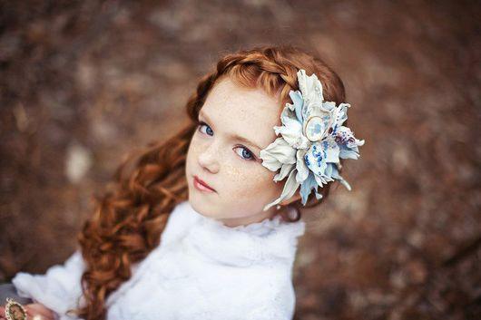 Броши ручной работы. Ярмарка Мастеров - ручная работа. Купить новая коллекция лета 2012 (брошь-зажим для волос). Handmade.