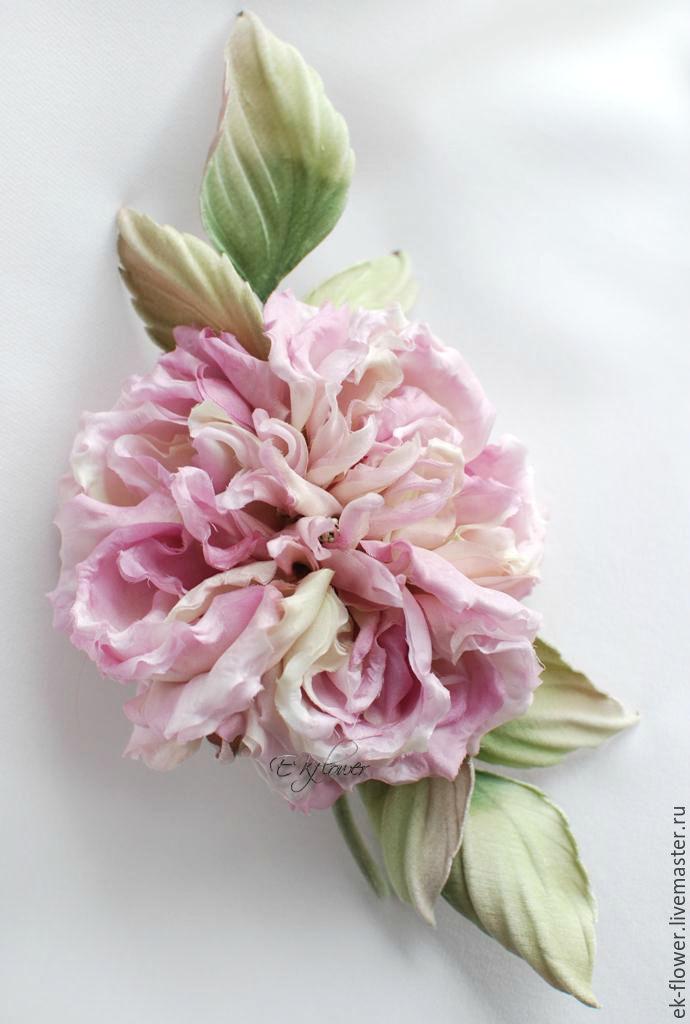 Fabric flowers silk flowers rose veronica shop online on silk flowers handmade fabric flowers silk flowers rose veronica silk mightylinksfo