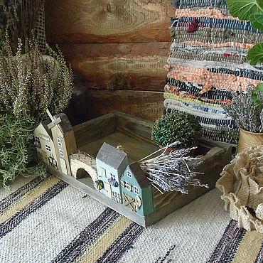 """Для дома и интерьера ручной работы. Ярмарка Мастеров - ручная работа Подставка для специй """"Старая мельница"""". Handmade."""