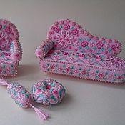 Куклы и игрушки ручной работы. Ярмарка Мастеров - ручная работа Интерьерная мебель для кукол. Handmade.