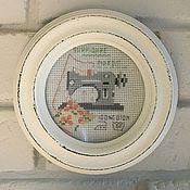 Для дома и интерьера handmade. Livemaster - original item Embroidery decor. Handmade.