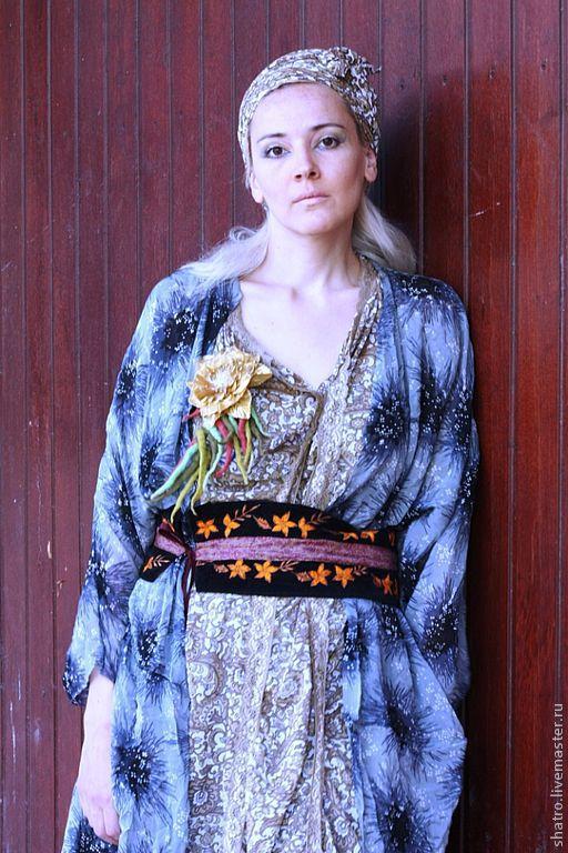 Платья ручной работы. Ярмарка Мастеров - ручная работа. Купить Комплект ПЛАТЬЕ + НАКИДКА. Handmade. Летнее платье
