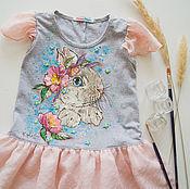 Работы для детей, handmade. Livemaster - original item dress for girl Zaya. Handmade.