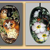 Сувениры и подарки ручной работы. Ярмарка Мастеров - ручная работа Расписные мышки. Handmade.