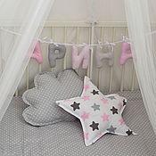 Для дома и интерьера ручной работы. Ярмарка Мастеров - ручная работа Комплект подушек звезда и облако. Handmade.