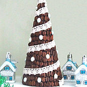Подарки к праздникам handmade. Livemaster - original item coffee tree. brown,white.. Handmade.