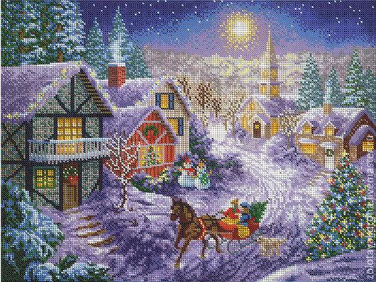 Рождественская прогулка.