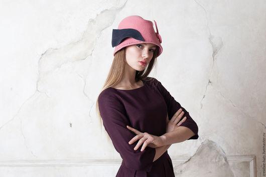 Шляпы ручной работы. Ярмарка Мастеров - ручная работа. Купить Юное очарование. Handmade. Фетровая шляпа, стильный головной убор
