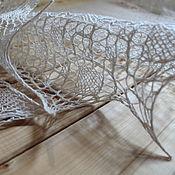 Аксессуары ручной работы. Ярмарка Мастеров - ручная работа Шейный платок или мини-шаль Небесные Витражи. Handmade.