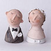"""Свадебный салон ручной работы. Ярмарка Мастеров - ручная работа """"Совет да любовь"""", колокольчики. Handmade."""