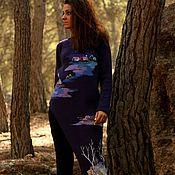 """Одежда ручной работы. Ярмарка Мастеров - ручная работа Кардиган """"От рассвета до заката"""". Handmade."""