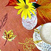 """Для дома и интерьера ручной работы. Ярмарка Мастеров - ручная работа Дорожка на стол """"Золотая осень"""". Handmade."""