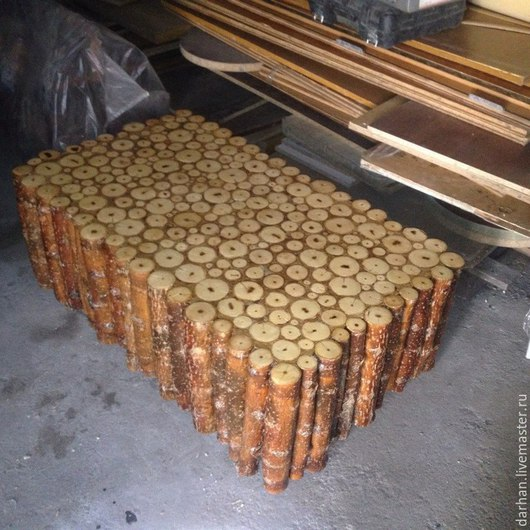Мебель ручной работы. Ярмарка Мастеров - ручная работа. Купить журнальный столик. Handmade. Коричневый, дерево