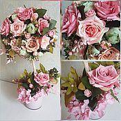"""Топиарий """"Розовая карамель"""", дерево счастья"""
