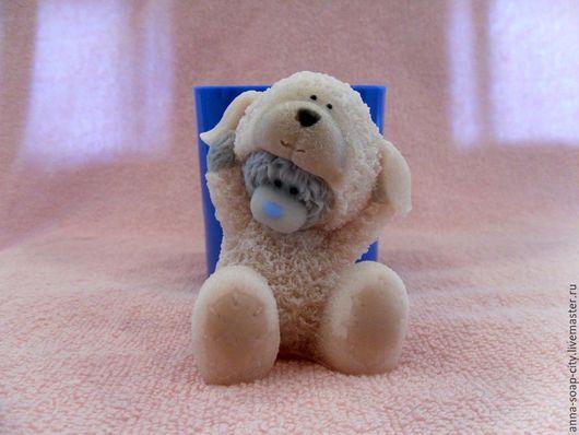"""Другие виды рукоделия ручной работы. Ярмарка Мастеров - ручная работа. Купить Силиконовая форма для мыла """"Мишка Тедди в костюме овечки"""". Handmade."""